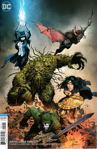 Cover Thumbnail for Justice League Dark (DC, 2018 series) #2 [Greg Capullo & Jonathan Glapion Variant Cover]