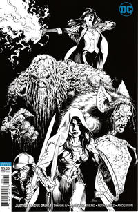 Cover Thumbnail for Justice League Dark (DC, 2018 series) #1 [Greg Capullo & Jonathan Glapion Inks Only Variant Cover]