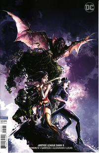 Cover Thumbnail for Justice League Dark (DC, 2018 series) #5 [Clayton Crain Variant Cover]