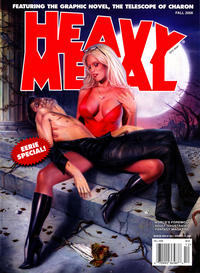 Cover Thumbnail for Heavy Metal Magazine (Heavy Metal, 1977 series) #v32#8 - Eerie Special