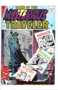 Cover Thumbnail for Tales of the Mysterious Traveler (Robin Snyder and Steve Ditko, 2015 series) #27