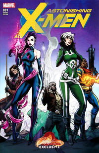 Cover Thumbnail for Astonishing X-Men (Marvel, 2017 series) #1 [J. Scott Campbell Store Exclusive Cover A]