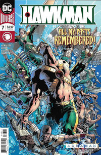 Cover Thumbnail for Hawkman (DC, 2018 series) #7 [Bryan Hitch Cover]