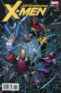 Cover Thumbnail for Astonishing X-Men (Marvel, 2017 series) #3 [Dale Keown]