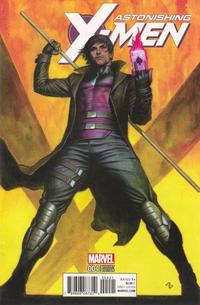 Cover Thumbnail for Astonishing X-Men (Marvel, 2017 series) #4 [Adi Granov 'Character']