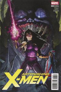 Cover Thumbnail for Astonishing X-Men (Marvel, 2017 series) #3 [Simone Bianchi]