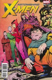 Cover Thumbnail for Astonishing X-Men (Marvel, 2017 series) #3 [Sanford Greene Villain]