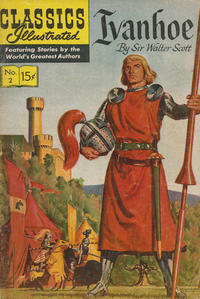 Cover Thumbnail for Classics Illustrated (Gilberton, 1947 series) #2 [HRN 149] - Ivanhoe