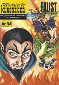 Cover Thumbnail for Illustrierte Klassiker [Classics Illustrated] (Norbert Hethke Verlag, 1991 series) #144 - Faust