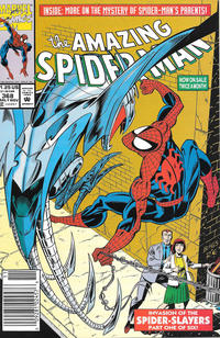 Cover Thumbnail for The Amazing Spider-Man (Marvel, 1963 series) #368 [Newsstand]