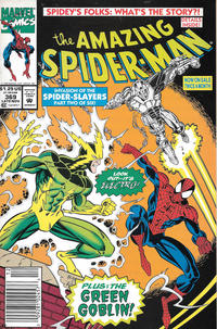 Cover Thumbnail for The Amazing Spider-Man (Marvel, 1963 series) #369 [Newsstand]
