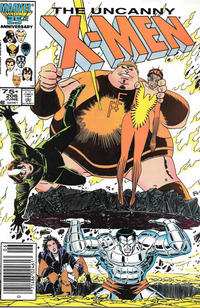 Cover Thumbnail for The Uncanny X-Men (Marvel, 1981 series) #206 [Newsstand]