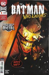 Cover Thumbnail for The Batman Who Laughs (DC, 2019 series) #1 [Jock]