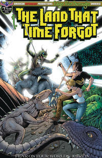 Cover Thumbnail for Edgar Rice Burroughs' The Land That Time Forgot: Fear on Four Worlds (American Mythology Productions, 2018 series) #1 [Main Cover]