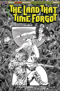 Cover Thumbnail for Edgar Rice Burroughs' The Land That Time Forgot: Fear on Four Worlds (American Mythology Productions, 2018 series) #1 [Limited Editon Sketch Cover]