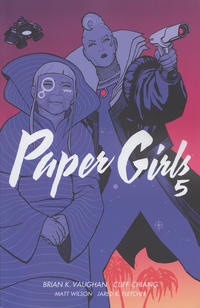 Cover Thumbnail for Paper Girls (Image, 2016 series) #5