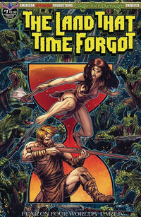 Cover Thumbnail for Edgar Rice Burroughs' The Land That Time Forgot: Fear on Four Worlds (American Mythology Productions, 2018 series) #1 [Timeless Cover]
