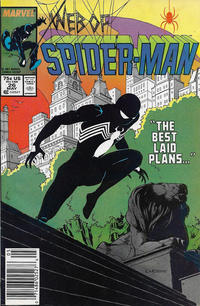 Cover Thumbnail for Web of Spider-Man (Marvel, 1985 series) #26 [Newsstand]