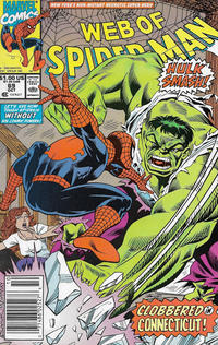 Cover Thumbnail for Web of Spider-Man (Marvel, 1985 series) #69 [Newsstand]