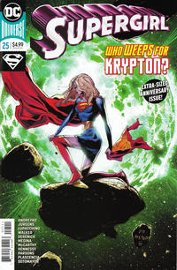 Cover Thumbnail for Supergirl (DC, 2016 series) #25