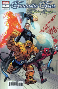 Cover Thumbnail for Fantastic Four Wedding Special (Marvel, 2019 series) #1 [Pasqual Ferry]