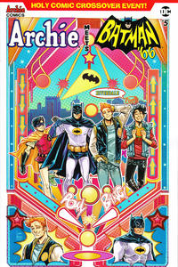 Cover Thumbnail for Archie Meets Batman '66 (Archie, 2018 series) #5 [Cover B Laura Braga]