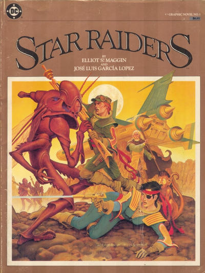 Cover for DC Graphic Novel (DC, 1983 series) #1 - Star Raiders [Canadian]