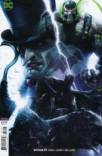 Cover for Batman (DC, 2016 series) #59 [Francesco Mattina]