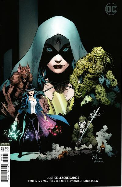 Cover for Justice League Dark (DC, 2018 series) #3 [Alvaro Martinez Bueno & Raul Fernandez Cover]