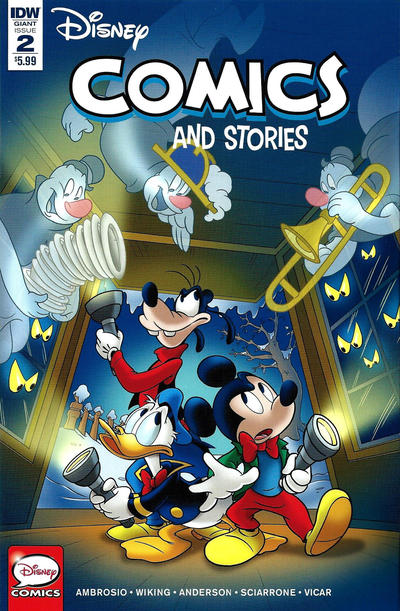 Cover for Disney Comics and Stories (IDW, 2018 series) #2 / 745