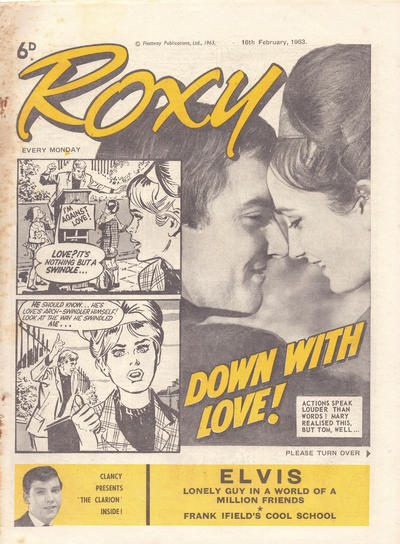 Cover for Roxy (Amalgamated Press, 1958 series) #16 February 1963 [258]