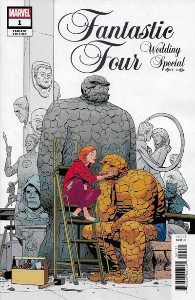 Cover for Fantastic Four Wedding Special (Marvel, 2019 series) #1 [Pasqual Ferry]