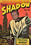Cover for The Shadow (Frew Publications, 1950 series) #22