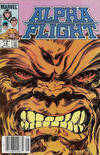 Cover for Alpha Flight (Marvel, 1983 series) #10 [Canadian]