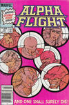 Cover for Alpha Flight (Marvel, 1983 series) #12 [Canadian]