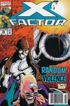 Cover Thumbnail for X-Factor (1986 series) #88 [Newsstand]