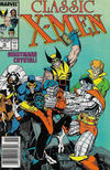Cover for Classic X-Men (Marvel, 1986 series) #15 [Newsstand]