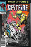 Cover for Spitfire and the Troubleshooters (Marvel, 1986 series) #9 [Newsstand]