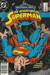 Cover for Adventures of Superman (DC, 1987 series) #436 [Newsstand]