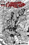 Cover for Amazing Spider-Man (Marvel, 2018 series) #1 (802) [Variant Edition - Erik Larsen Remastered Black and White Cover]