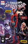 Cover Thumbnail for Amazing Spider-Man (2018 series) #1 (802) [Variant Edition - Current Style Logo - Jamal Campbell Cover]