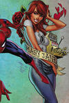 Cover for Amazing Spider-Man (Marvel, 2018 series) #1 (802) [Variant Edition - Midtown Comics Exclusive! -  J. Scott Campbell Composite Wraparound Cover]
