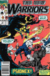 Cover for The New Warriors (Marvel, 1990 series) #15 [Newsstand]