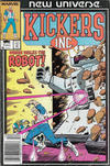Cover Thumbnail for Kickers, Inc. (1986 series) #2 [Newsstand]