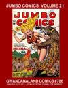 Cover for Gwandanaland Comics (Gwandanaland Comics, 2016 series) #786 - Jumbo Comics: Volume 21