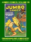 Cover for Gwandanaland Comics (Gwandanaland Comics, 2016 series) #791 - Jumbo Comics: Volume 26