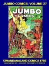 Cover for Gwandanaland Comics (Gwandanaland Comics, 2016 series) #792 - Jumbo Comics: Volume 27