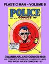 Cover for Gwandanaland Comics (Gwandanaland Comics, 2016 series) #808 - Plastic Man - Volume 8