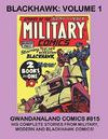 Cover for Gwandanaland Comics (Gwandanaland Comics, 2016 series) #815 - Blackhawk: Volume 1