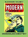 Cover for Gwandanaland Comics (Gwandanaland Comics, 2016 series) #817 - Blackhawk: Volume 3